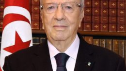 Il  Presidente Tunisino Essebsi